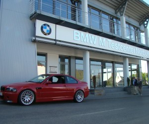 At BMW M Test center, Nurburg