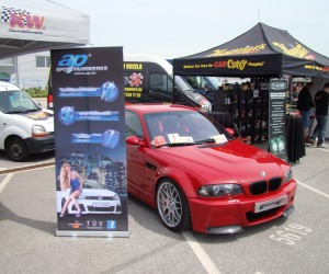Imola red CSL optic KW gewinde Eibach distance